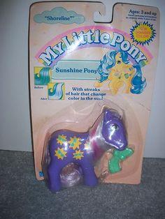 My Little Pony G1 Shoreline MOC