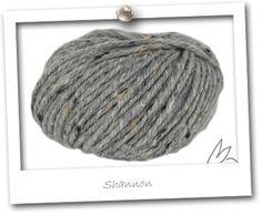IRISH TWEED - Véritable Tweed Irlandais - coloris SHANNON