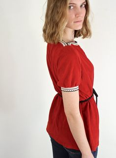Adorable 70s Belted Tunic on Etsy, $30.00