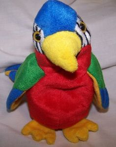 Jabber the Parrot TY Beanie Baby - Beanie Babies Collection