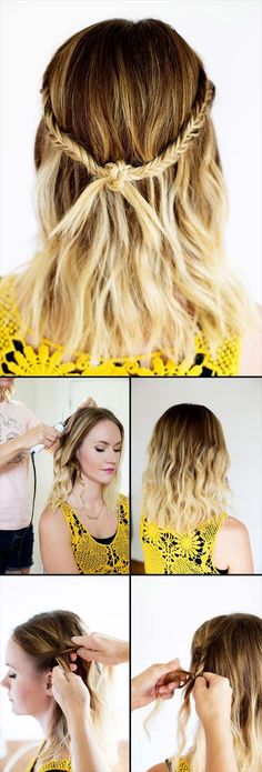 Best Hairstyles For Your 20s -Bohemian Festival Knot Braid- Hair Dos And Don'ts For Your 20s, With The Best Haircuts For Women In Their 20s, Including Short Hairstyle Ideas, Flattering Haircuts For Medium Length Hair, And Tips And Tricks For Taming Long Hair In Your 20s. Low Maintenance Hair Styles And Looks For A 20 Year Old Woman. . Hairstyles For 25 Year Old Woman. Simple Step By Step Tutorials And Tips For Hair Styles You Can Use To Look Beautiful At Any Event. Hair styles For Curly Hair…