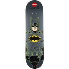 Almost Batman R7 Skateboard Deck, color: Batman, category/department: skate-decks