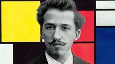 Piet Mondriaan, Nederlandse kunstschilder en kunsttheoreticus,