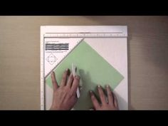 Cómo medir en pulgadas. Tutorial scrapbook - YouTube
