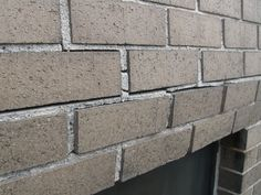 Bowing and displacement in brick masonry are symptoms of restrained movement. Masonry Construction, Brick Masonry, Tile Floor, Building, Brickwork, Buildings, Tile Flooring, Construction