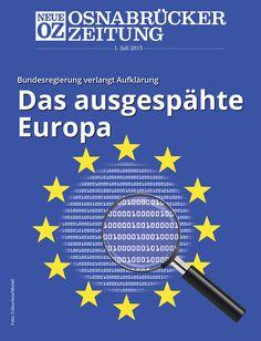 Unsere iPad-Ausgabe vom 1. Juli ist da. Titelthema ist die Spionage der USA in Europa.