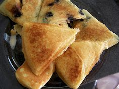 Make pancakes in a quesadilla maker