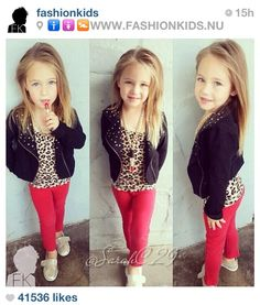 Girls outfit from fashion kids