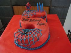 Spider man for my sons 5th birthday.  It was a...