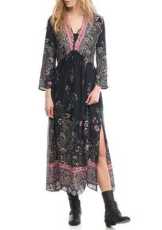 Free People Girls' If Only You Knew Maxi Dress -  - No Size