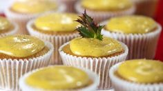Mincemeat muffins with eggnog icing - RTE Food
