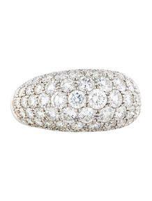 Van Cleef & Arpels Diamond Dome Ring
