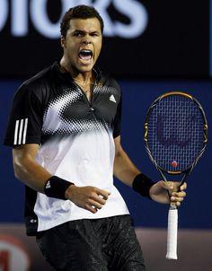 Jo-Wilfried Tsonga - Tennis Player. 2010.