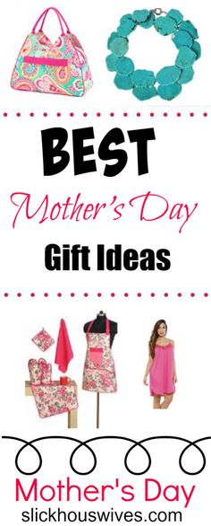 BEST Mother's Day Gift Ideas!  These are great gift ideas especially when you are on a budget. Surprise mother with these great presents!