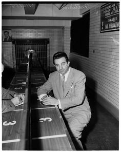 Jimmy 'The Weasel' Fratiano -- a crook, 1954                                                                                                                                                                                 More
