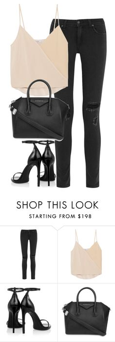 """Untitled #2856"" by elenaday on Polyvore featuring rag & bone, Chelsea Flower, Yves Saint Laurent, Givenchy, thevoice and YahooView"
