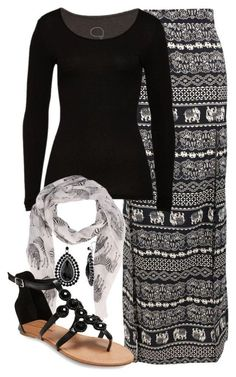Maxi Skirt Outfits 022