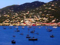 Photo of Charlotte Amalie Harbor St Thomas USVI by TresSoleil, $25.00