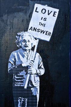 Street Art - Albert Einstein