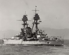 Battleship USS Oklahoma