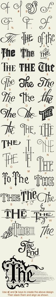 Creative Typography, Great, Fonts, Type, and Lettering image ideas & inspiration on Designspiration Calligraphy Letters, Typography Letters, Vintage Typography, Typography Quotes, Vintage Logos, Retro Logos, Typographie Inspiration, Schrift Design, Alphabet