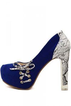 http://www.bonanza.com/listings/Free-Shpping-Blue-Suede-Lace-Up-Snakeskin-Pattern-High-Heels-w/243155178