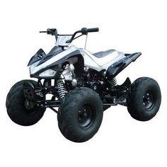 Grizzly 125cc ATV Four Wheelers Kids Quad