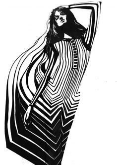 Marc Jacobs SS13 illustration, via Katarina Stupavska in 160g Magazine