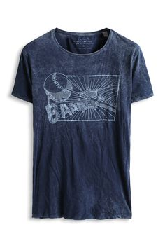 www.davidemartini.ink for Esprit - Baumwoll Jersey Print T-Shirt im Online Shop kaufen