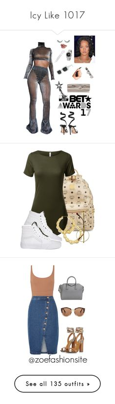 """Icy Like 1017"" by sandimjoli ❤ liked on Polyvore featuring Bliss Lau, Gianvito Rossi, Benedetta Bruzziches, Jennifer Fisher, Maison Margiela, Rolex, MCM, Thalia Sodi, Retrò and Eres"