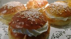 The laskiaispulla Hamburger, Catering, Bread, Food, Catering Business, Gastronomia, Brot, Essen, Baking