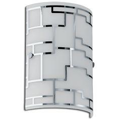 #Lampara #Aplique #pared #BAYMAN #cromo #iluminacion #decoracion #hogar #interiorismo #diseño #Talavera