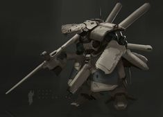 ArtStation - Mech Design , Hugo Lam