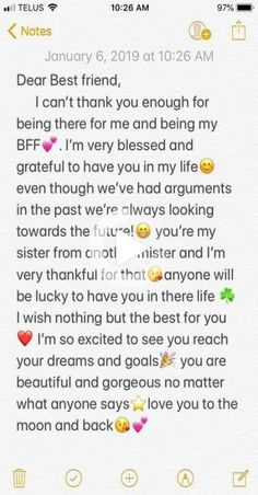 58 Ideas Quotes Birthday Friendship Bff For 2019 Friendship Quotes Happy Birthday Best Friend Quotes, Birthday Quotes For Best Friend, Birthday Cards For Friends, Quotes For Best Friends, Letter For Best Friend, Happy Birthday Text, Birthday Bestfriend Quotes, Special Birthday, Best Friend Birthday Letter