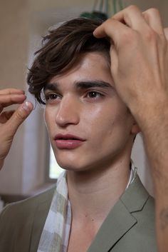 Alexander Ferrario at Corneliani S/S 2015 (via)