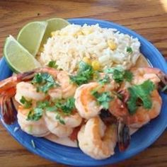"""Across the Border Tequila Shrimp 