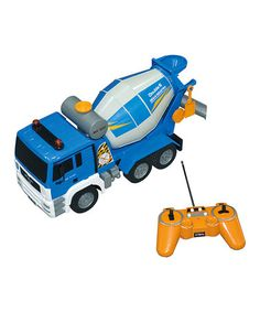 Another great find on #zulily! Remote Control Cement Truck by Model Rectifier #zulilyfinds