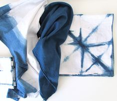 Indigo Tea Towels