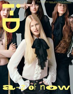 The Alphabetical Issue No. 322 Pre-Spring 2013 Codie, Magda, Charlie and Louise by Richard Bush