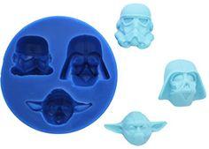 Star Wars Yoda, Vader & Stormtrooper Silicone Mold $22.99
