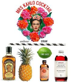 The proximity of Cinco de Mayo to Mother's Day makes this Frida Kahlo-inspired cocktail the perfect boozy complement to the celebratory weekend.