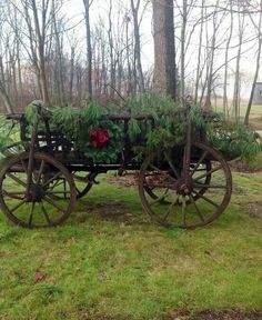 Neat old wagon!