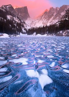 Dream Lake at Rocky National Park lives up to its name in this glowing portrait that looks like an illustration of the imagination. (photo: Wayne Boland)