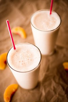 Here's a delicious, easy, and healthy Peach Protein Shake recipe for you to enjoy as a breakfast, post-workout meal, or just as a treat.