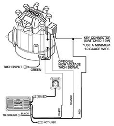 gm hei distributor and coil    wiring       diagram     Yahoo Image Search Results   Red  1      Diagram