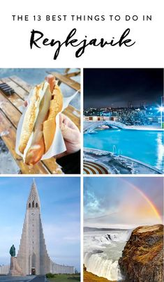 13 Things You Need to Do in Reykjavik #purewow #outdoor #culture #travel #vacation inspiration #food