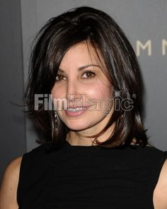 Actress Gina Gershon medium hair