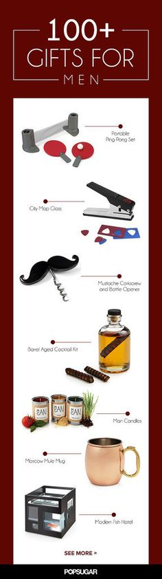 105 Awesome but Affordable Gifts For Men such a great article, tons of good ideas for every guy