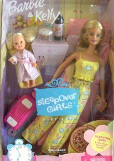 Barbie & Kelly Sleepover Girls