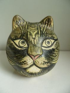 Cat money box, Taliesin, Bude, Cornwall.